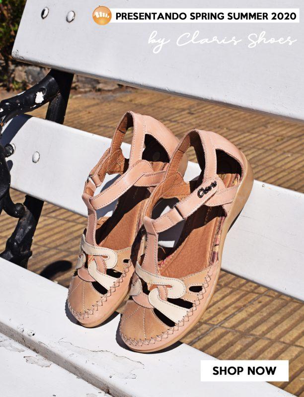 sandalias primavera verano 2020 Señoras Claris Shoes