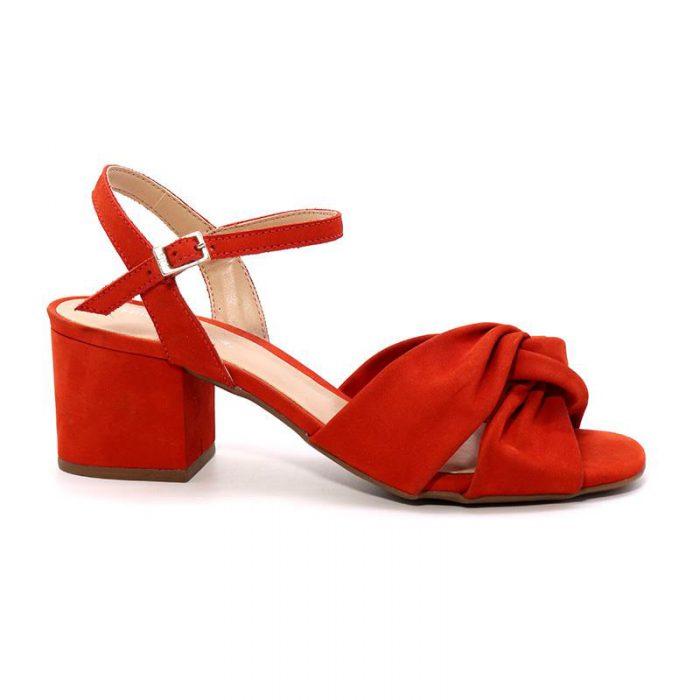 sandalias rojas Hush puppies verano 2020