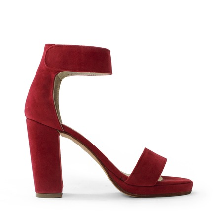 sandalias rojas primavera verano 2020 Kloosters
