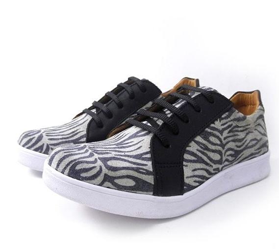 zapatillas cebra para mujer primavera verano 2020 Laura Di Nizo Calzature