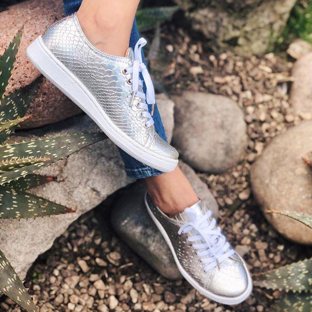 zapatillas plateadas verano 2020 Pamuk Shoes