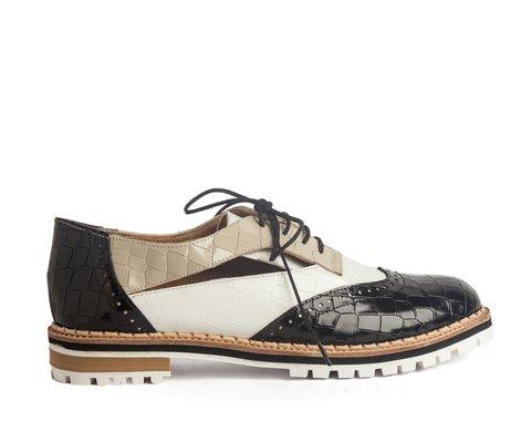 zapatos abotinados mujer Cestfini primavera verano 2020