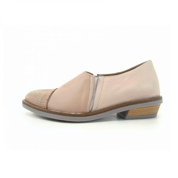 zapatos rosa planos para mujer primavera verano 2020 Laura Di Nizo Calzature