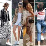 Como combinar zapatillas blanca - Look Mujer
