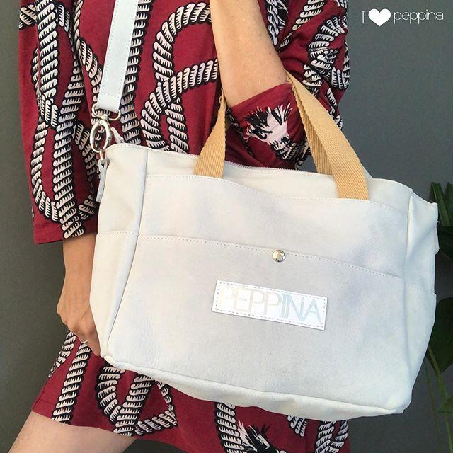 bolso blanco I Love Peppina verano 2020