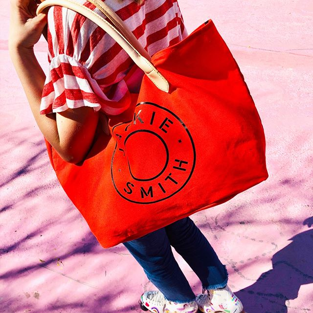 bolso rojo verano 2020 Jackie Smith