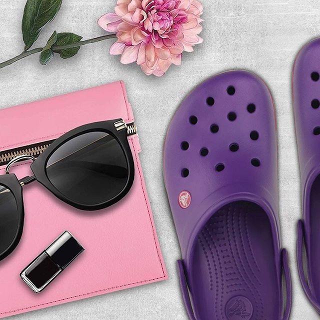crocs violeta mujer verano 2020