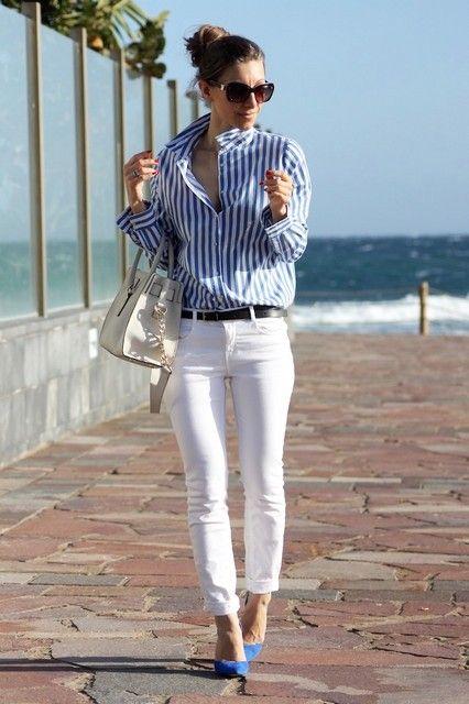 look verano zon zapatos azules