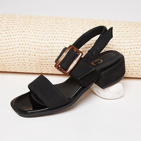 sandalias bajas negras verano 2020 Chao Shoes