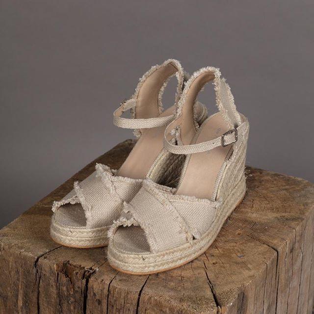sandalias de yute verano 2020 De Maria calzados
