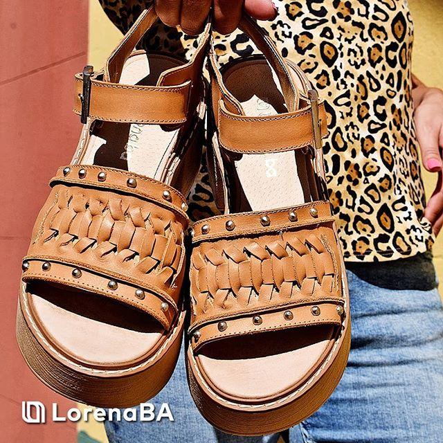 sandalias marrones verano 2020 Lorena Ba Calzados