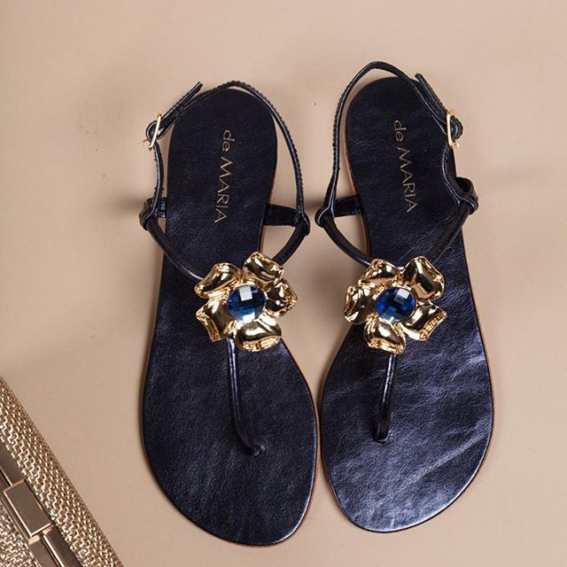 sandalias ojotas modernas y elegantes verano 2020 De Maria calzados