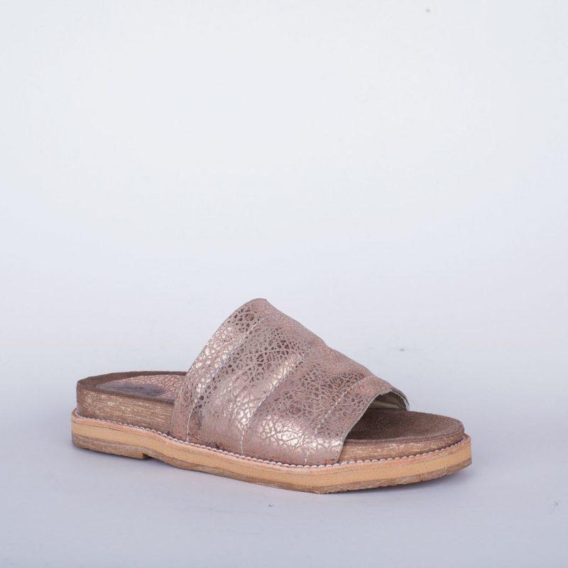 sandalias rosa metalizada verano 2020 New Factory
