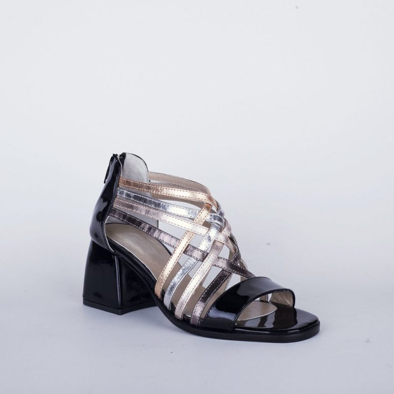 sandalias tiras metalizadas verano 2020 New Factory