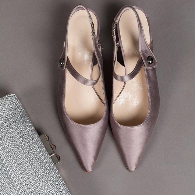 stilettos de raso verano 2020 De Maria calzados