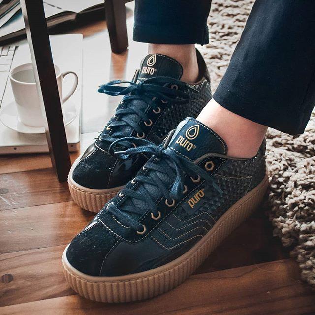 zapatillas azules erano 2020 Calzados Puro