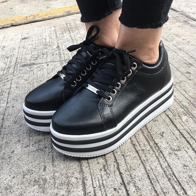 zapatillas con plataformas verano 2020 Calzados Tops