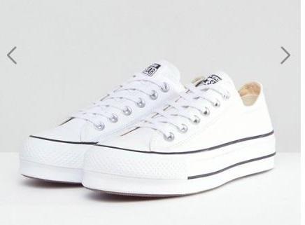 zapatillas estilo converse de lona