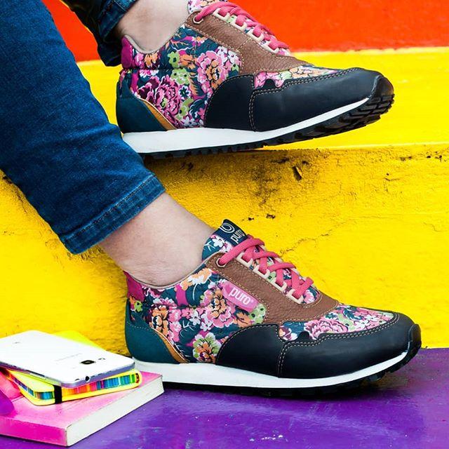 zapatillas para mujer estampada erano 2020 Calzados Puro