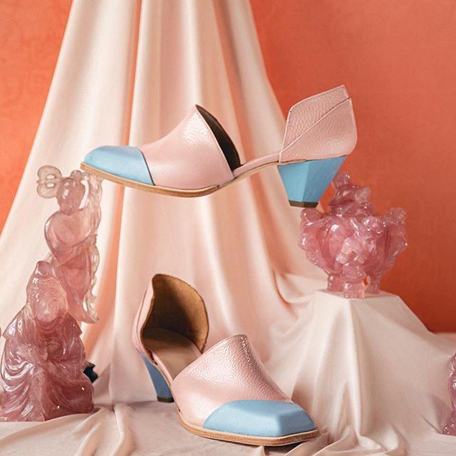 zapatos color pastel verano 2020 Jessica Kessel