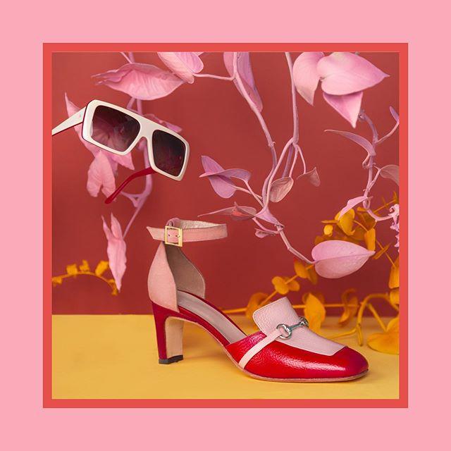 zapatos punta redonda taco alto verano 2020 Jessica Kessel