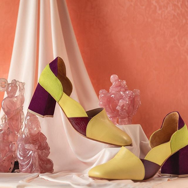 zapatos punta redonda verano 2020 Jessica Kessel