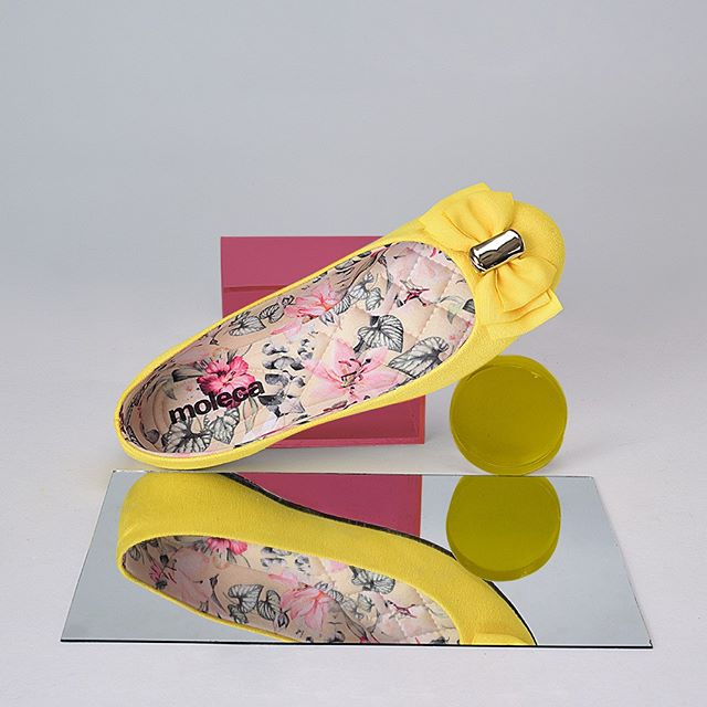 balerinas amarillas primavera verano 2020 Moleca
