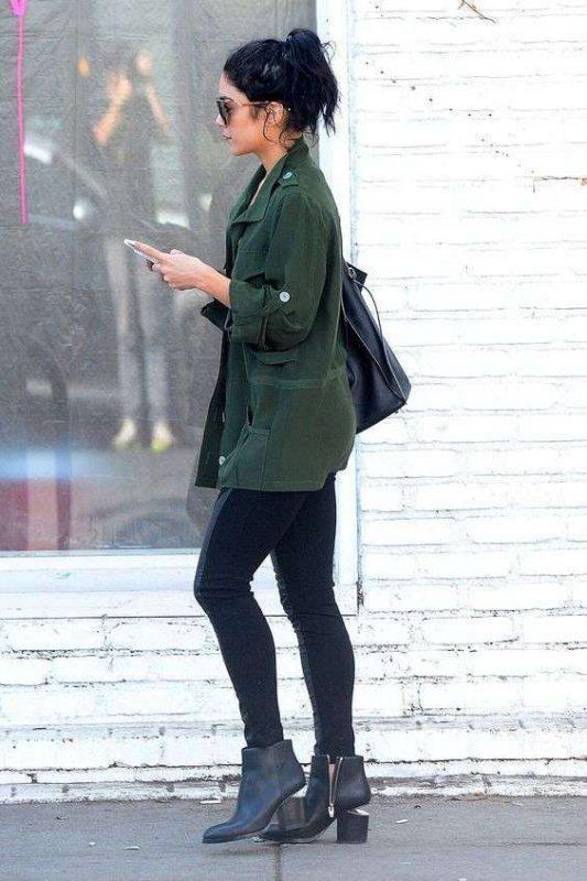 look casual con leggins y botitas
