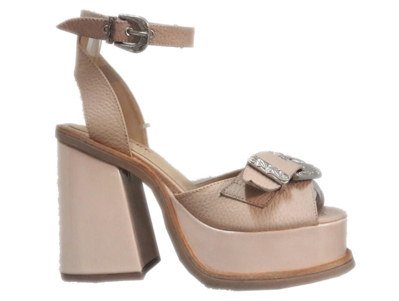 sandalia rosa BULWARK by Cromo Shoes