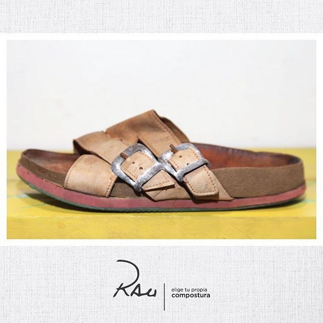 sandalias planas de cuero Rauch Zapatos verano 2020