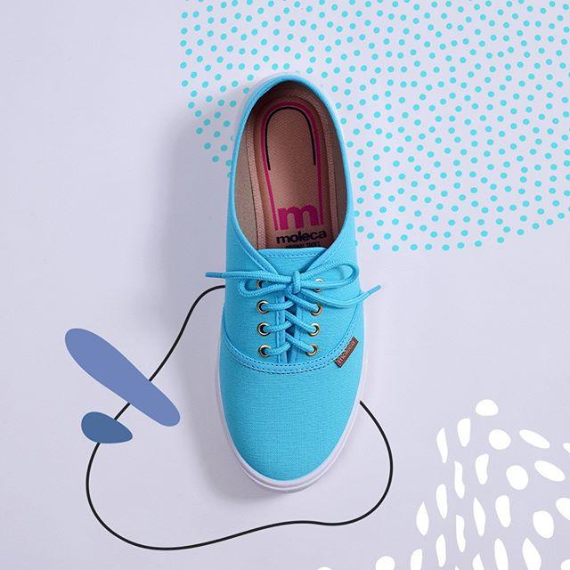 zapatillas de lona primavera verano 2020 Moleca