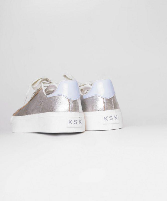 zapatillas doradas verano 2020 Kosiuko