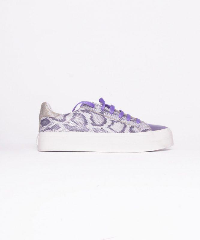 zapatillas reptil violeta verano 2020 Kosiuko