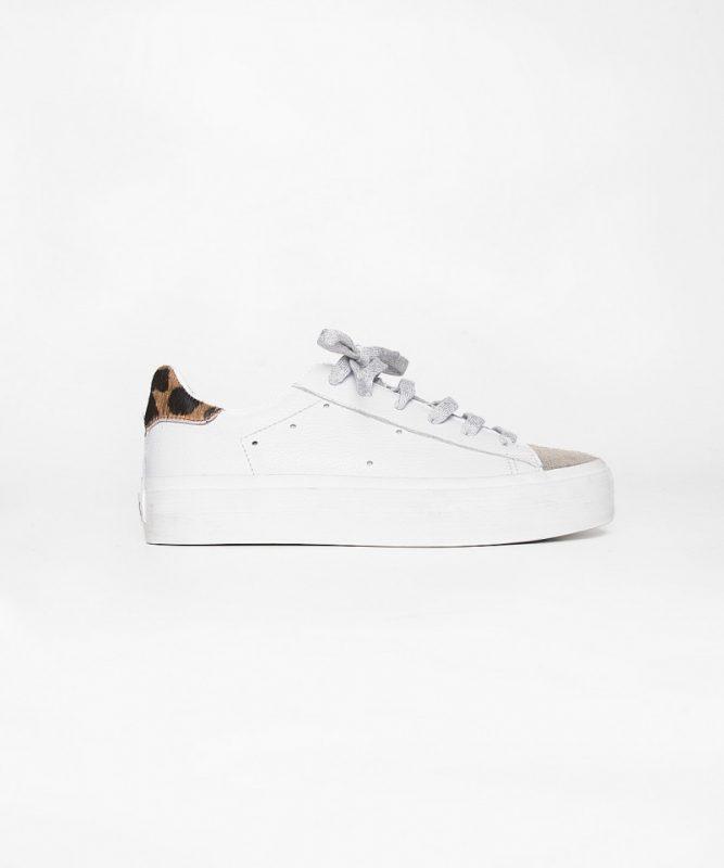 zapatillas urbanas mujer blancas verano 2020 Kosiuko
