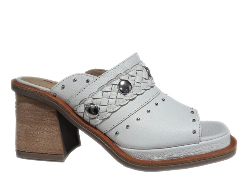 zueco blanco BULWARK by Cromo Shoes