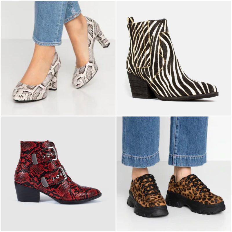 Zapatos y botas animal print invierno 2020 Tendencias