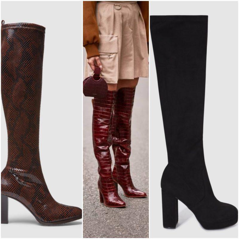 botas bucaneras otoño invierno 2020 Botas de moda 2020 Argentina