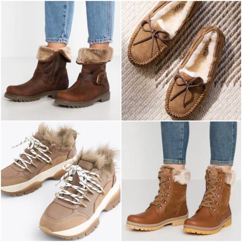 calzados con pelo sintetnico invierno 2020 Tendencias