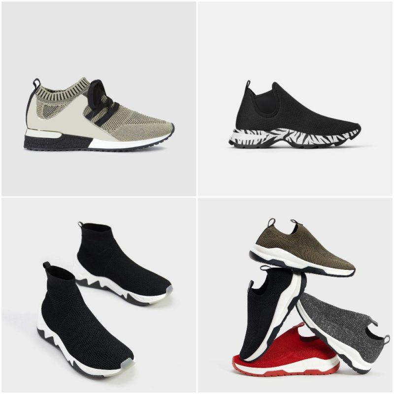 zapatillas calcetin para mujer invierno 2020