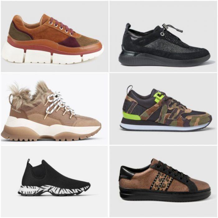 zapatillas de moda pra mujer otoño invierno 2020 tendencias