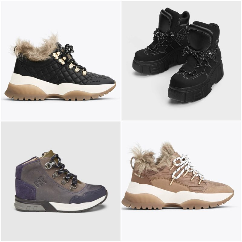 zapatillas de montaña para mujer invierno 2020