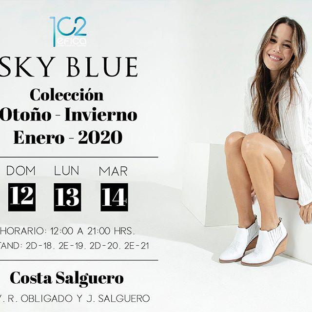 Sky Blue Botas blancas invierno 2020