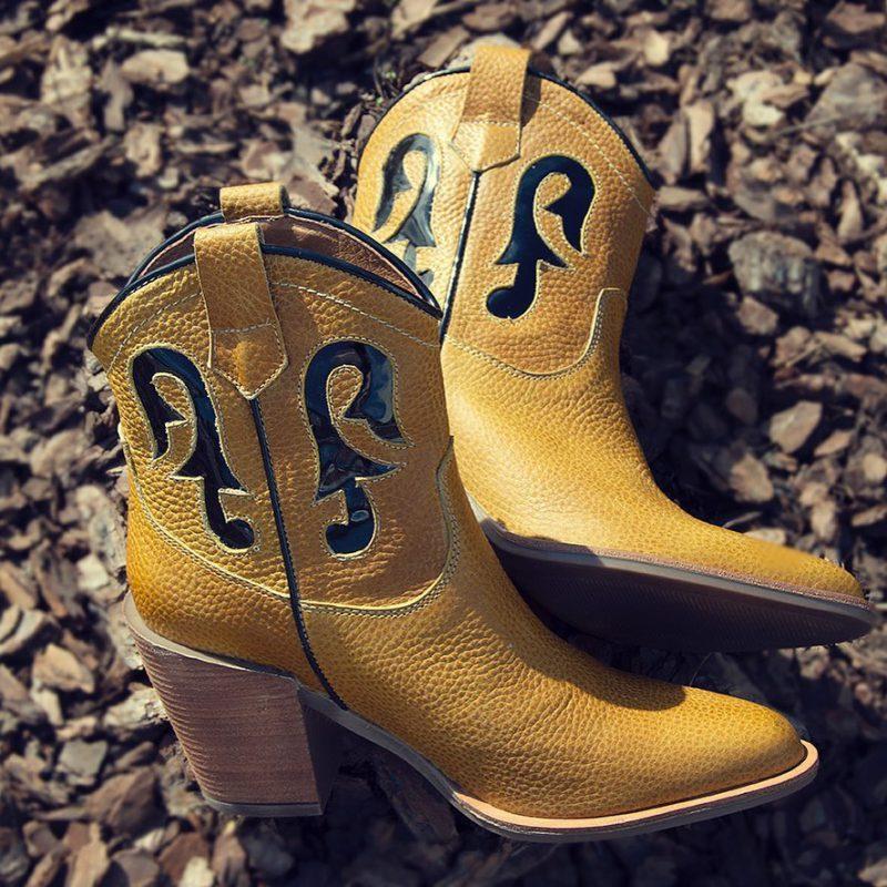 botas amarillas texanas invierno 2020 Micadel