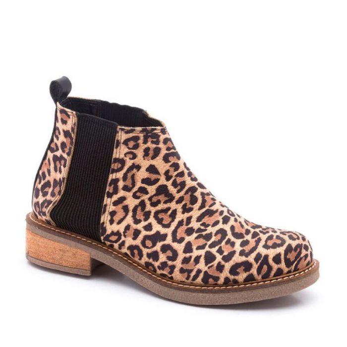 botita leopardo invierno 2020 TRAZA
