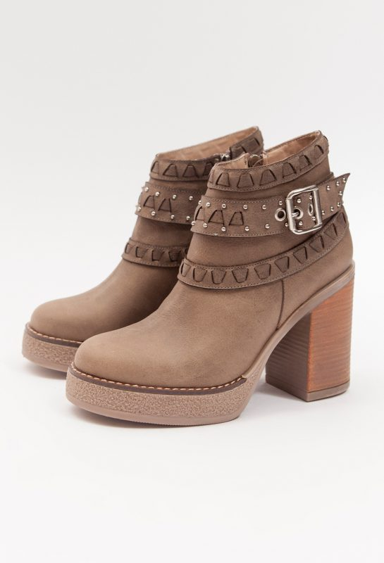Botas marron chocolate invierno 2020 Calzados Heyas