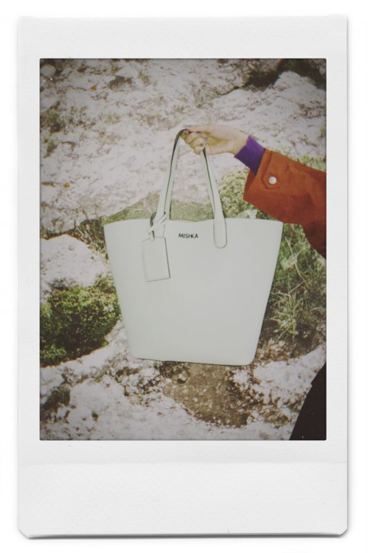 Cartera blanca invierno 2020 Mishka