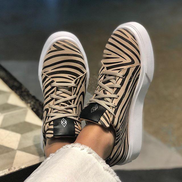 Zapatillas cebra invierno 2020 Calzados Heyas