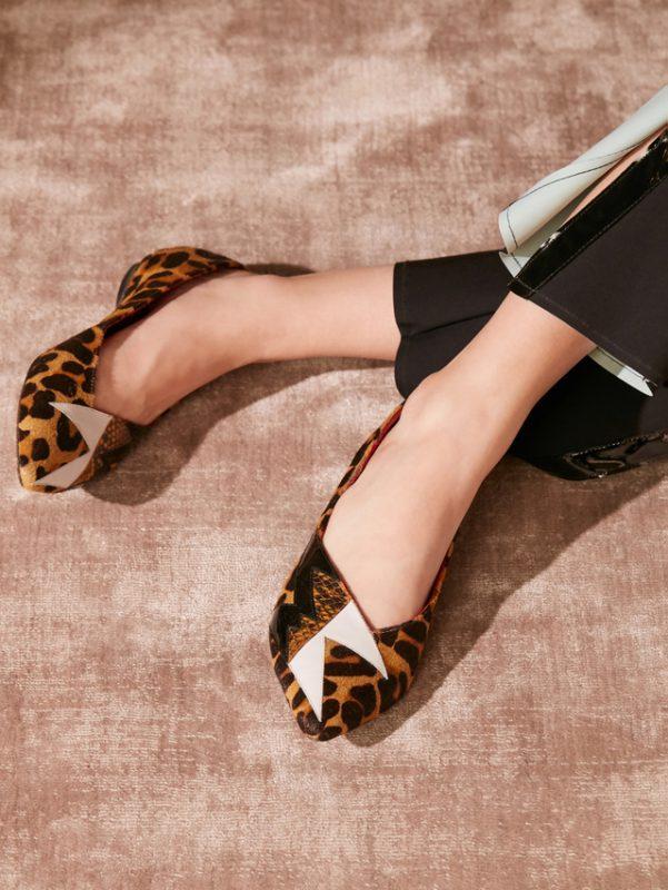 balerinas estampa leopardo invierno 2020 Jazmin Chebar