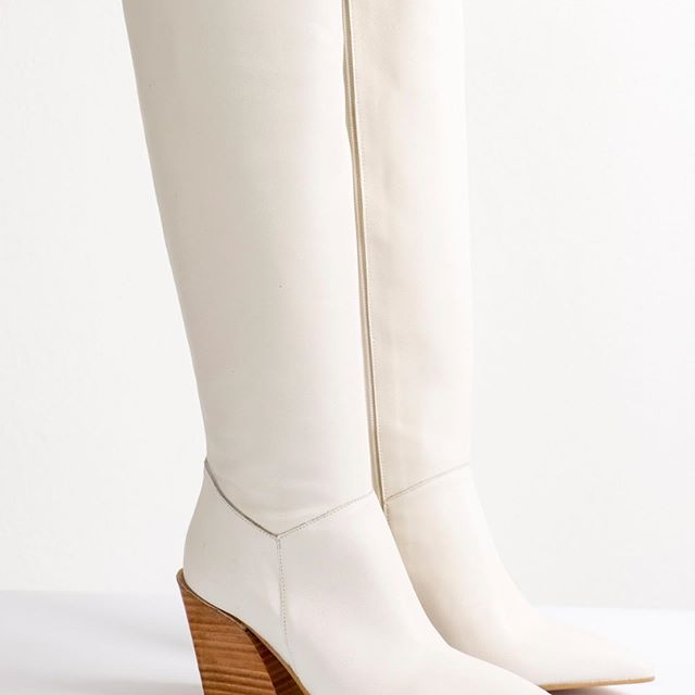 botas bucaneras blancas invierno 2020 JOW