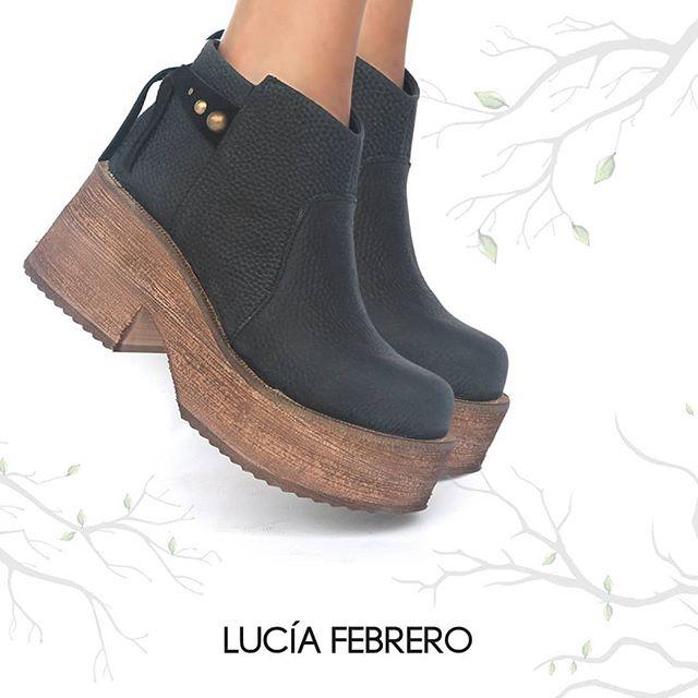 botas con plataformas invierno 2020 Lucia Febrero